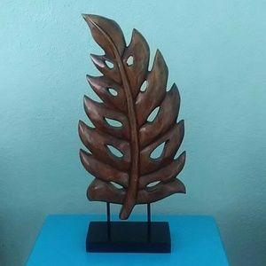Rustic Decorative Wood leaf art